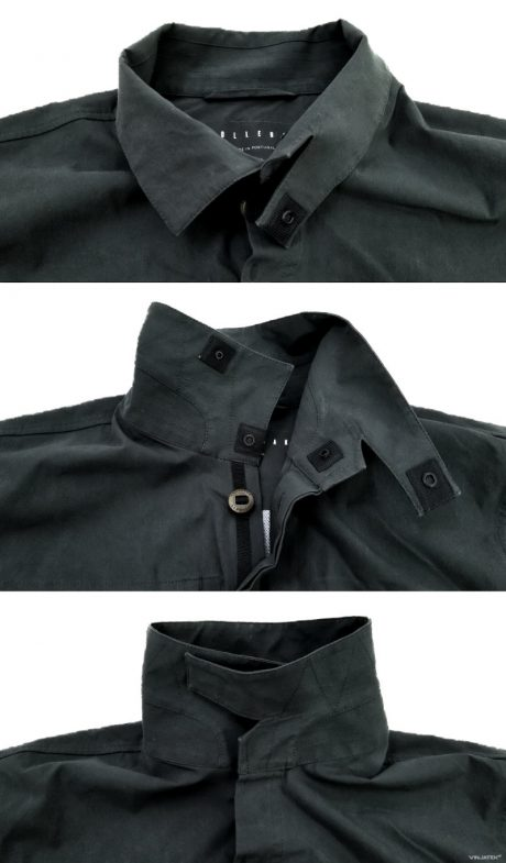 The Vollebak Planet Earth Shirt: Collar System /// Vinjatek