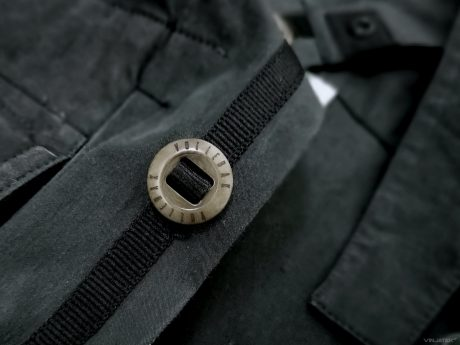 The Vollebak Planet Earth Shirt: Shatterproof Corozo Nut Buttons /// Vinjatek