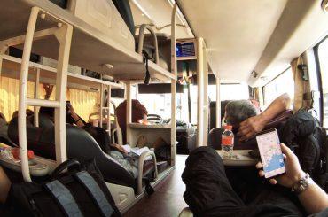 Southeast Asia Sleeper Bus Ride in Cambodia, Vietnam, Thailand, Laos /// Vinjatek