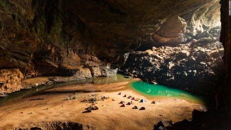Camp Site at Son Doong Cave, Vietnam /// Vinjatek