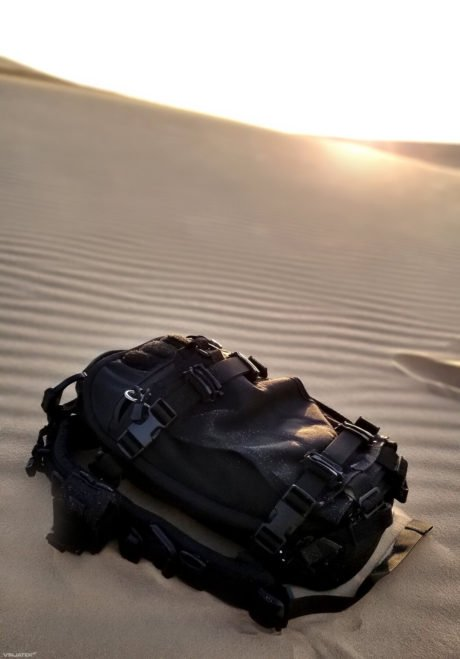 FAST Pack Scout in a desert, the White Sand Dunes of Mui Ne, Vietnam /// Vinjatek