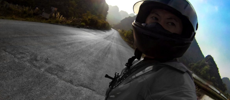 Motorbiking Vietnam in Ninh Binh /// Vinjatek