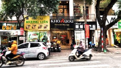 Bún Chả Hương Liên Obama Restaurant in Hanoi, Vietnam /// Vinjatek