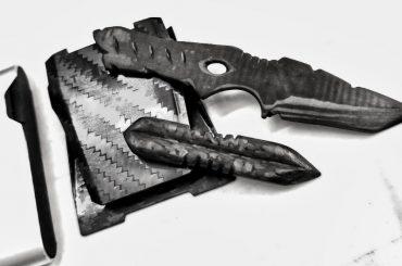 Full Carbon Fiber Blade Knives /// Vinjatek
