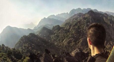 Vang Vieng Viewpoint in Laos /// Vinjatek