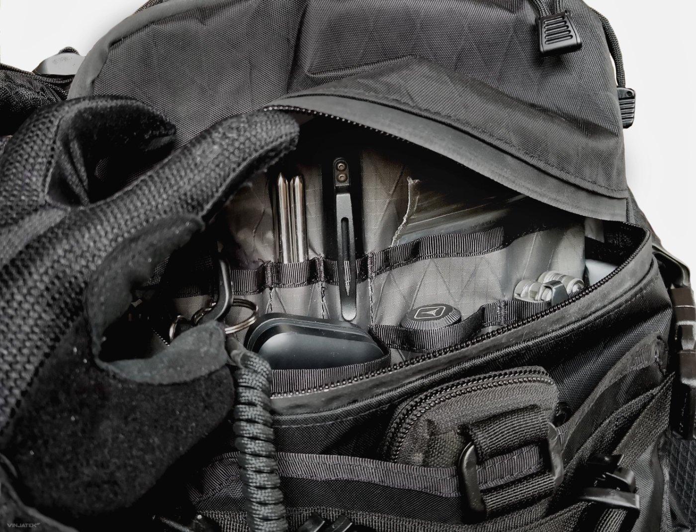 FAST Pack Scout VX42 Black Admin Pocket /// Vinjatek