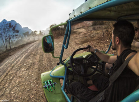 ATV Off Roading in Vang Vieng, Laos /// Vinjatek