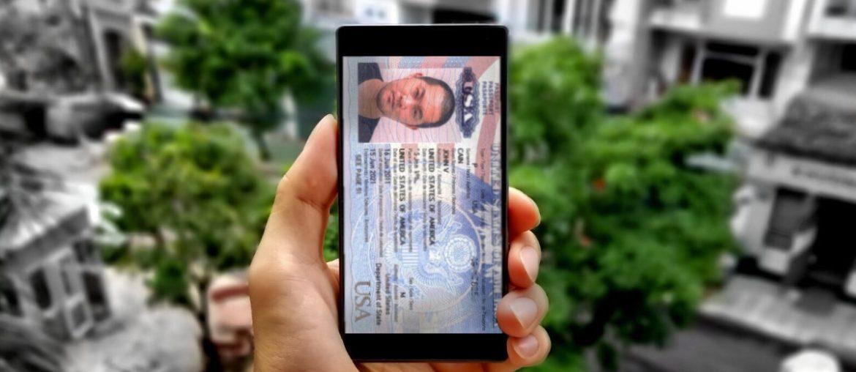 Passport ID as Your Phone Wallpaper /// Vinjatek