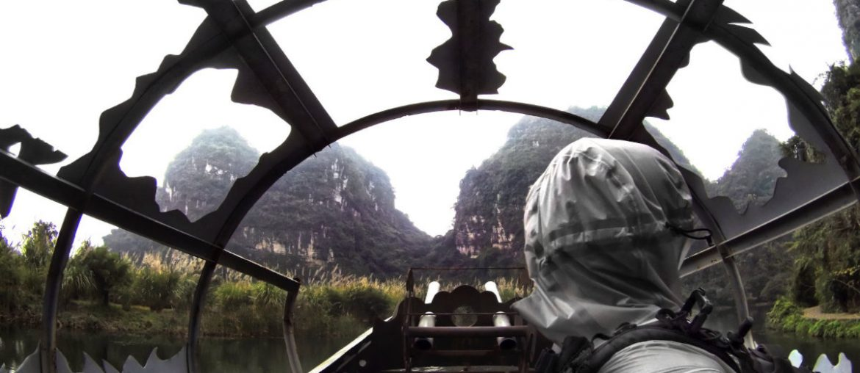 Kong Skull Island Boat in Ninh Binh, Vietnam /// Vinjatek