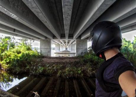 Urban Exploration Under a Bridge in Danang, Vietnam /// Vinjatek URBEX