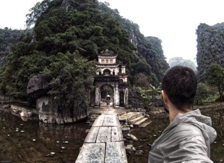 Bich Dong Temple in Ninh Binh, Vietnam /// Vinjatek