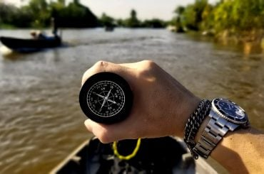 VSSL Compass on The Mekong Delta, Vietnam /// Vinjatek
