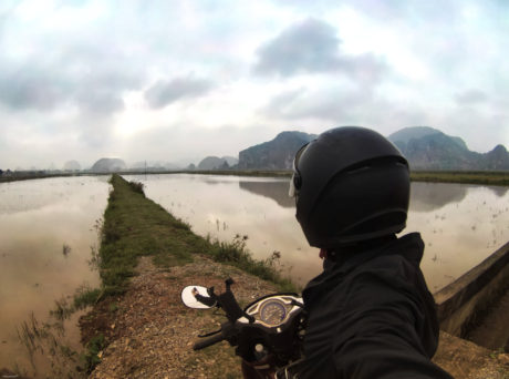 Riding a Motorcycle Through Ninh Binh, Vietnam /// Vinjatek