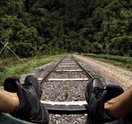 Riding The Train in Cambodia /// Vinjatek