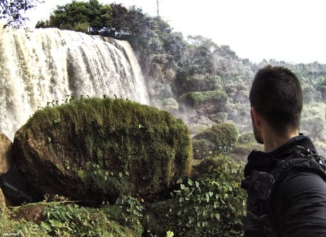 Waterfall at Dalat, Vietnam /// Vinjatek