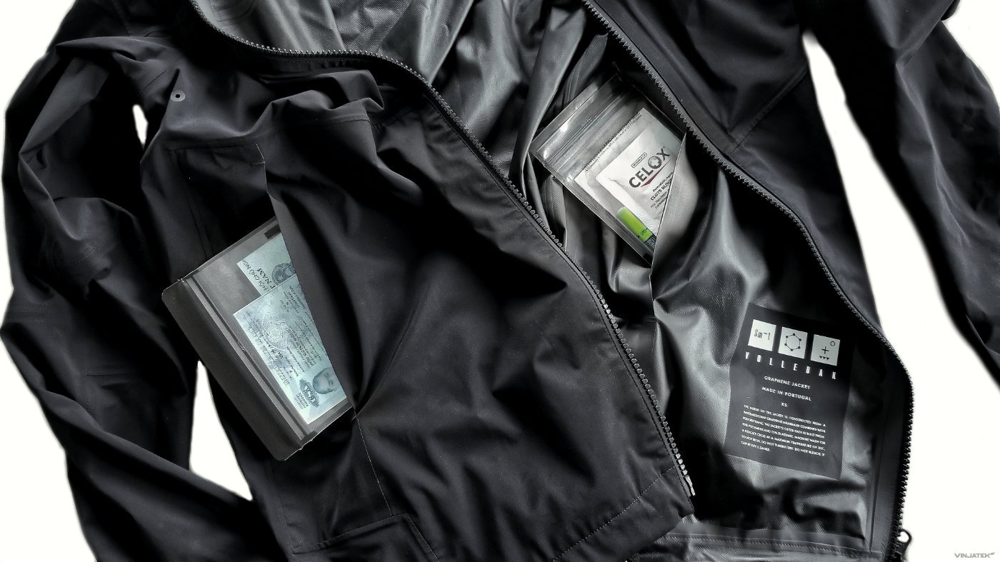 Gear Tactics: Vollebak Graphene Jacket with Waterproof aLOKSAK Pocket Inserts /// Vinjatek