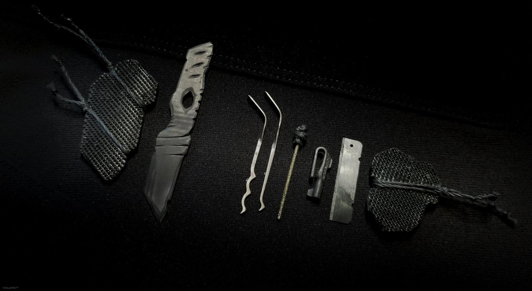 Undetectable SERE + CQC System Everyday Carry Kit /// Vinjatek