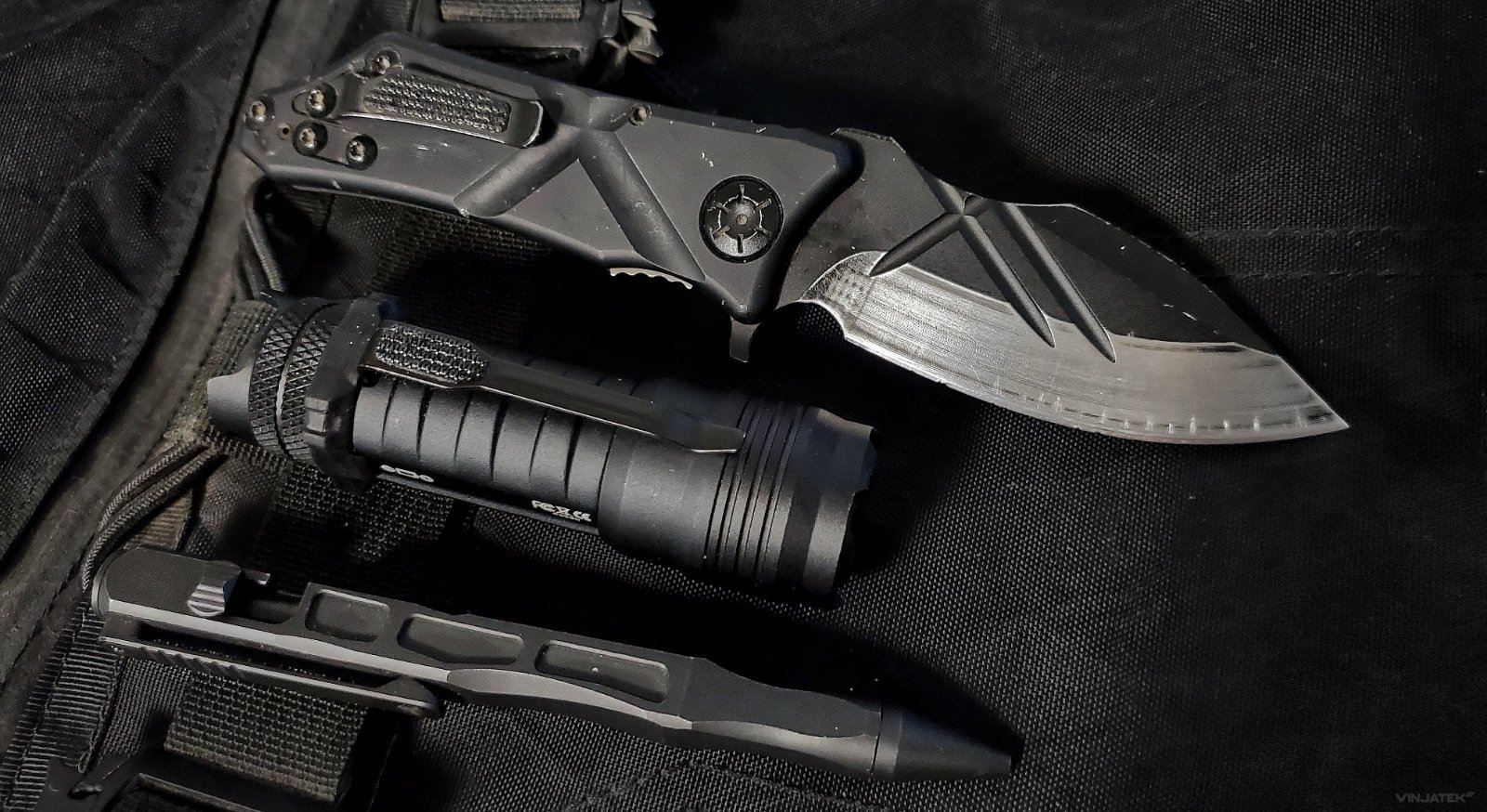 Tactical Light Write Slice EDC Kit /// Vinjatek