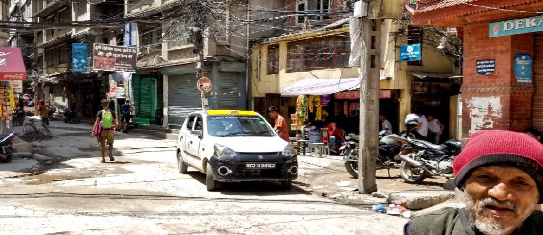 Homeless Man in Kathmandu, Nepal /// Vinjatek